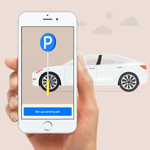 geparktes auto finden iphone
