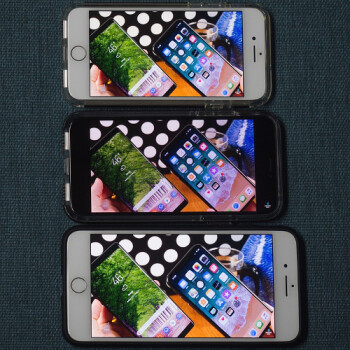 The real iPhone X screen area vs iPhone 8 and 8 Plus, video binge edition