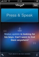 Vlingo 2.0 for the iPhone expands on its voice recognition services