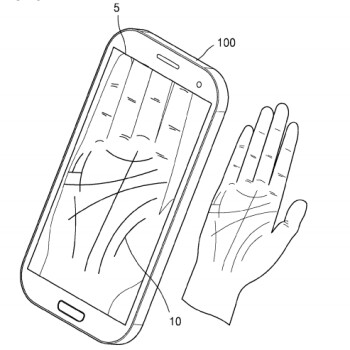 Move over, fingerprints: Samsung patents palm-scanning