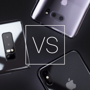 Blind camera comparison results: iPhone X vs Galaxy Note 8 vs LG V30