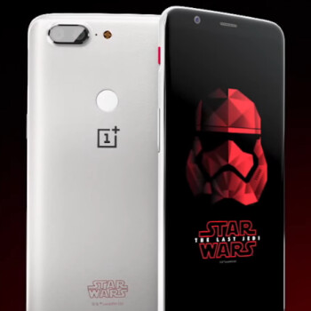 OnePlus 5T Star Wars Edition won't be