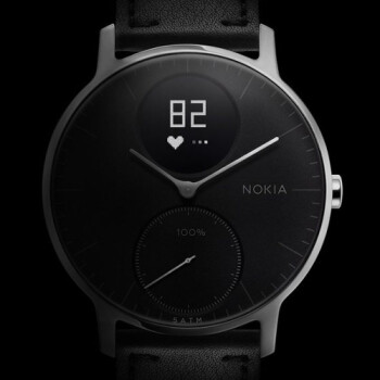 Nokia's Steel HR hybrid watch (compatible with Android and iOS) is now available in the US