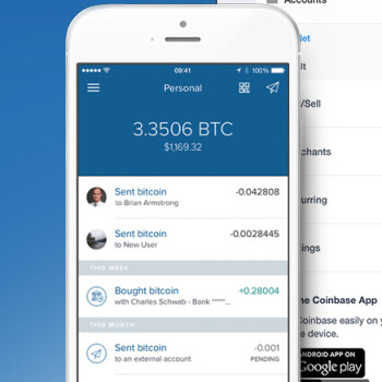 Record bitcoin price swings make Coinbase the most popular iPhone app