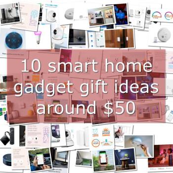 10 smart home gadget gift ideas around $50