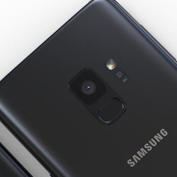 New Samsung Galaxy S9 pictures leak: sleek in black, fingerprint moved within easier reach
