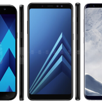 Galaxy A8 specs comparison vs A5 and S8