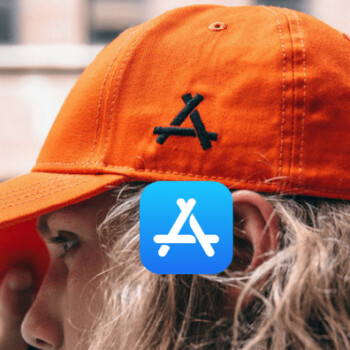 Apple's new App Store logo is one giant 'Kon', and a Chinese company is suing