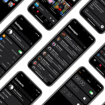 Would you fancy a systemwide Dark Mode for the iPhone X?
