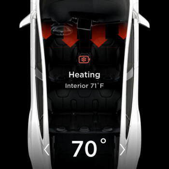 Drivers, warm up your batteries! Tesla app updated with cold weather 'precondition' feature