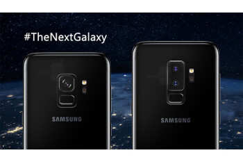 Alleged Galaxy S9 components smile for the camera: there's a spot for a headphone jack