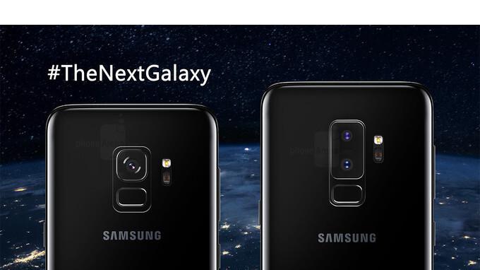 Presuntos componentes del Galaxy S9 sonríen a la cámara: hay un lugar para un conector de auriculares
