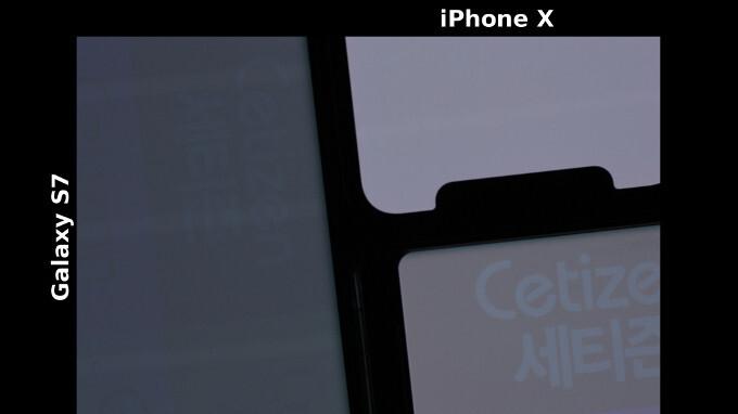 Display burn-in trials: iPhone X vs Galaxy S7 vs Galaxy Note 8