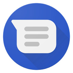 Google satisfaction survey found on the Android Messages client