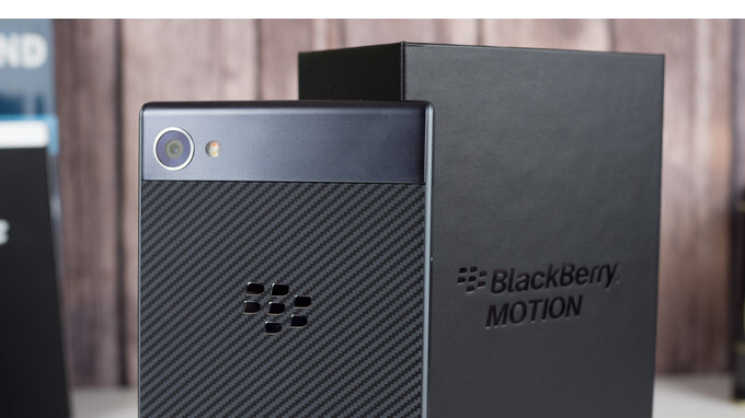 BlackBerry Motion launches in the US on January 12