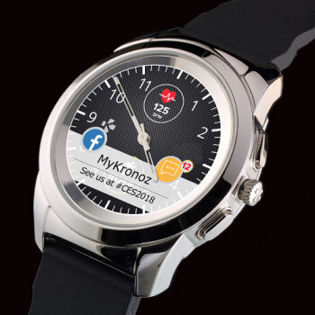 After stellar crowdfunding campaign, MyKronoz launches the unique ZeTime hybrid smartwatch