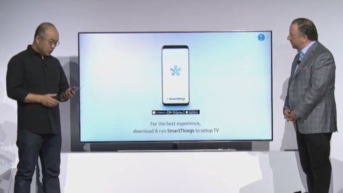 Samsung introduces Effortless Login for TVs: set-up your smart TV with your phone