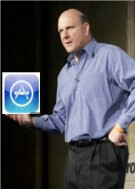 Steve Ballmer has a change of heart and gives credit to the Apple