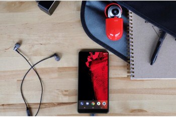 Essential is now selling phone accessories, including HD earphones and USB-C to 3.5mm adapters