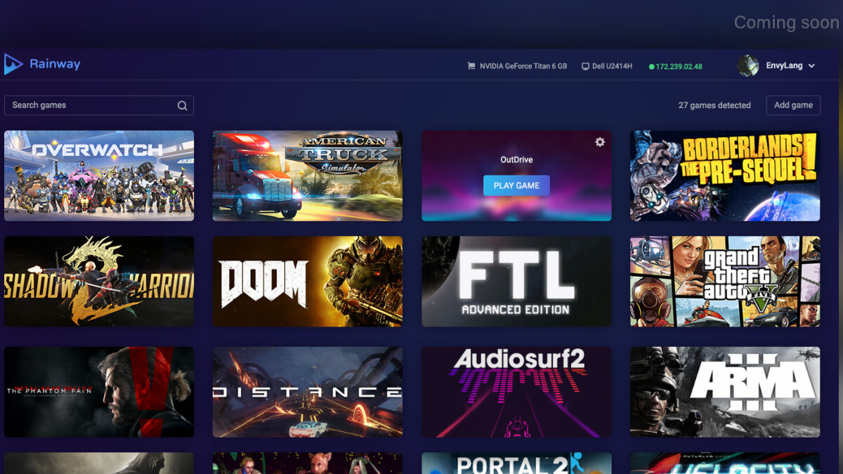 Meet Rainway, a platform that allows you to play PC and console games on your phone