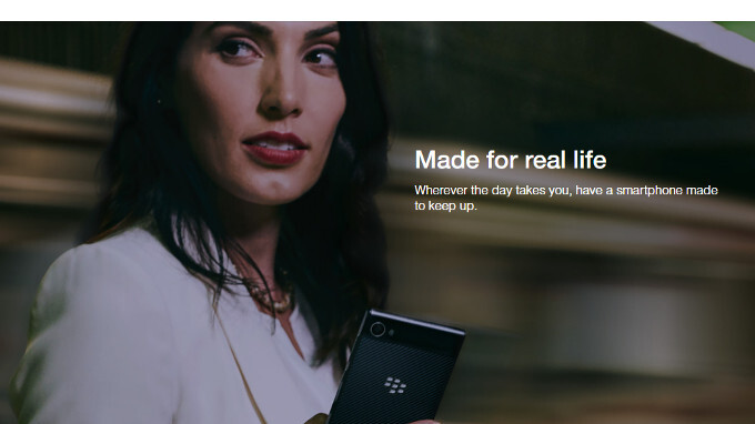 Unlocked BlackBerry Motion is now available in the US (compatible with T-Mobile and AT&T)
