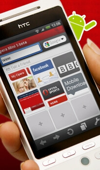 Opera Mini 5 beta hits the Android Market