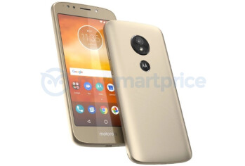 Motorola Moto E5 leaks out - the first modern Moto phone with a rear fingerprint scanner