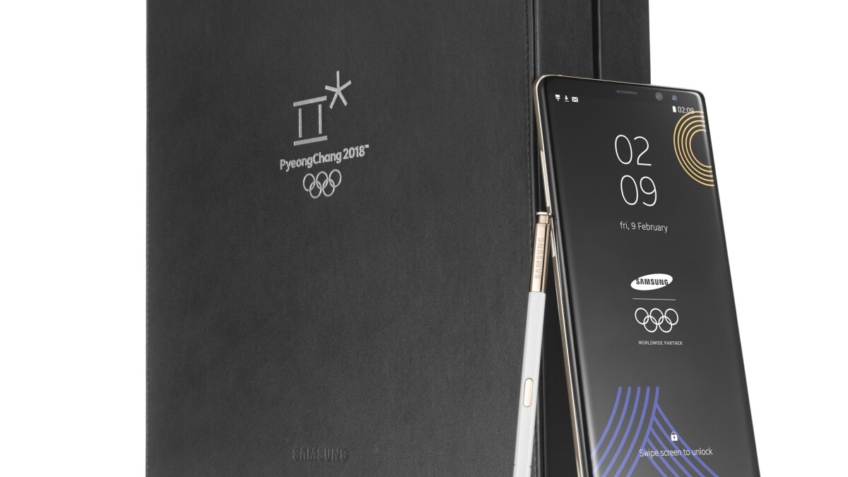Samsung to provide Olympians with a special, limited edition Galaxy Note 8