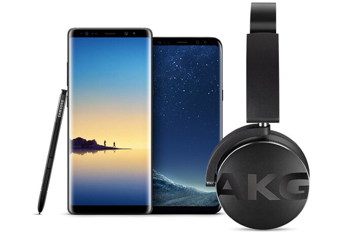 Samsung Galaxy S8 And Note 8 Now Come With Free Akg Headphones Phonearena