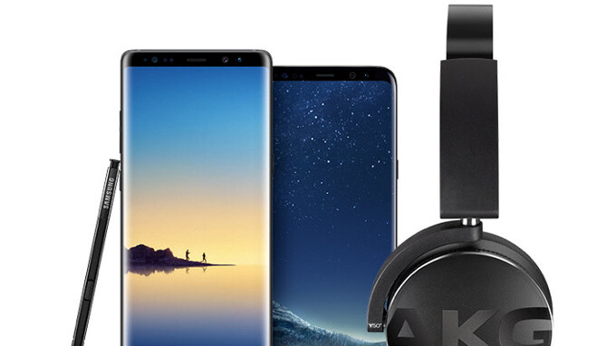 Samsung Galaxy S8 and Note 8 now come with free AKG wireless headphones (US only)