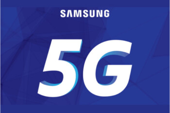 Picture from Samsung demonstrated its Exynos 5G modem behind closed doors at CES 2018