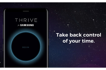 Samsung wants you to spend less time on your Galaxy Note 8, says this Thrive app can help