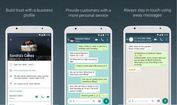 Picture from Facebook launches WhatsApp Business app, but only on Android