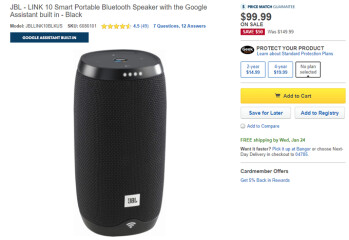 Deal: JBL Link smart speakers are discounted by up to 35% at US retailers