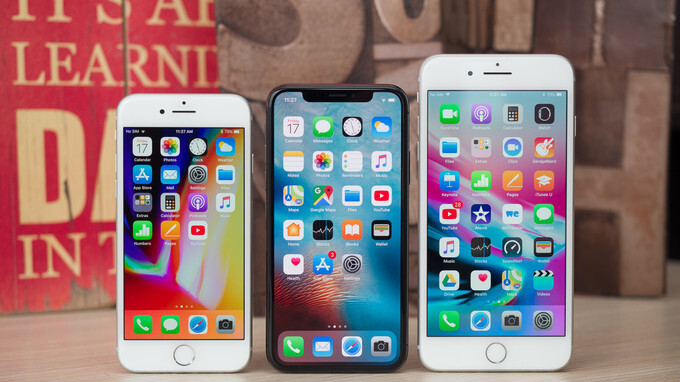 The iPhone X, 8 and 8 Plus share of all iPhones sold is worse than their predecessors