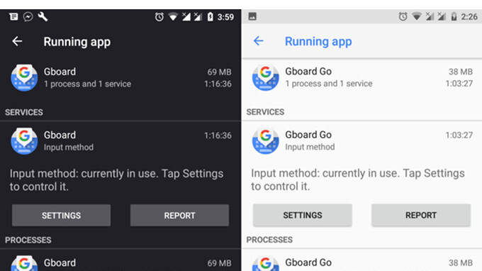 Google launches lite version of Gboard, but only for Android 8.1 devices with low RAM