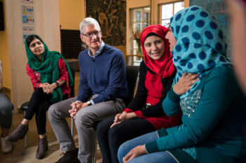Apple partners with the Malala Fund on '12 years of free, safe, quality education' for young women