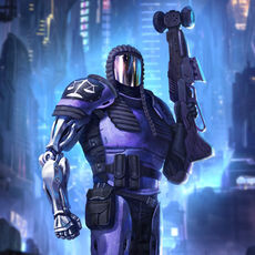 Jydge: a massive twin stick shooter with Judge Dredd influences available for iPhone