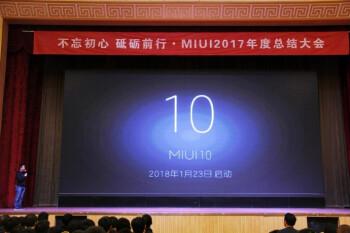 Xiaomi starts MIUI 10 development, will focus on AI features