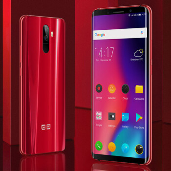 The Elephone U and U Pro draw near. The phones will accept 1 TB microSD cards.