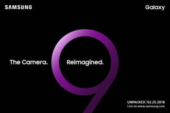 Samsung sends out invitations to media for Galaxy S9 unveiling on February 25th