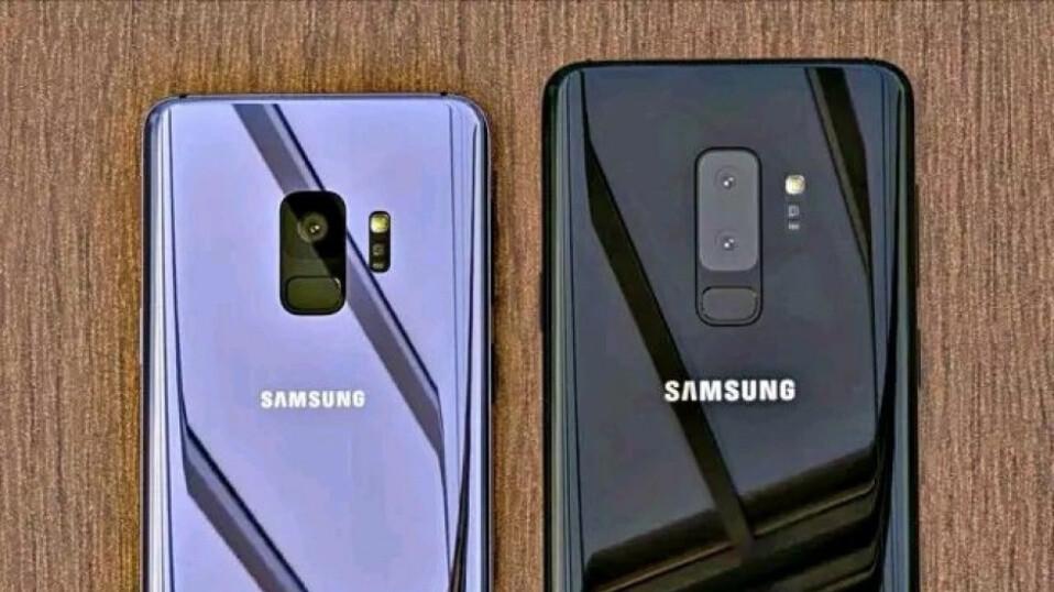 Samsung Galaxy S9 dummy pops up in short video