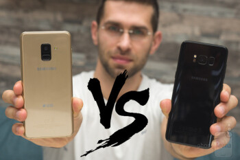 Results: Galaxy S8 trumps Galaxy A8 in the public eye