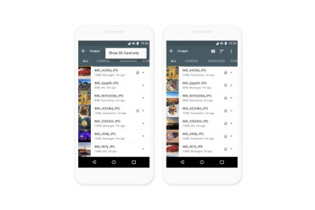 Google updates Files Go file manager with support for tablets and SD cards