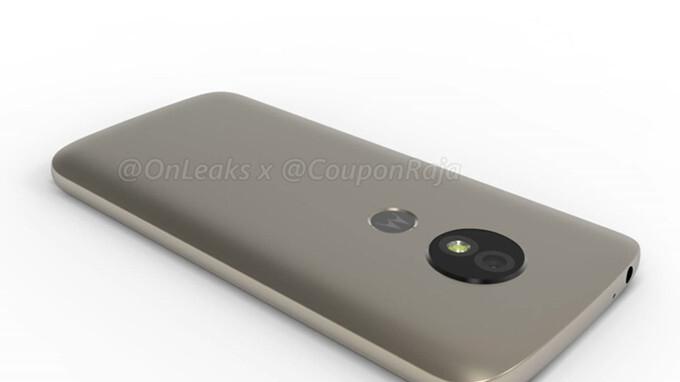 Motorola's Moto E5 appears in 3D renders, rear-mounted fingerprint sensor confirmed