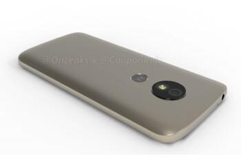 Motorola's Moto E5 appears in 3D renders, rear-mounted fingerprint sensor confirmed