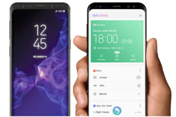 Here's what the Samsung Galaxy S9 might look like next to the Galaxy S8