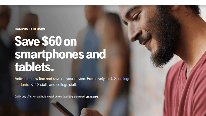 PSA: T-Mobile allows college students, teachers to save $60 on phones (including Galaxy S8) and iPads
