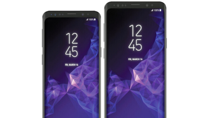 First Samsung Galaxy S9 Wallpaper Is Available For Download Phonearena