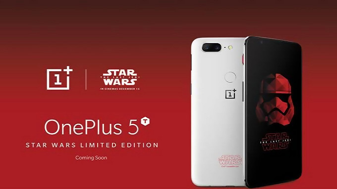 Thanks to a Jedi mind trick, the OnePlus 5T Star Wars edition returns in India